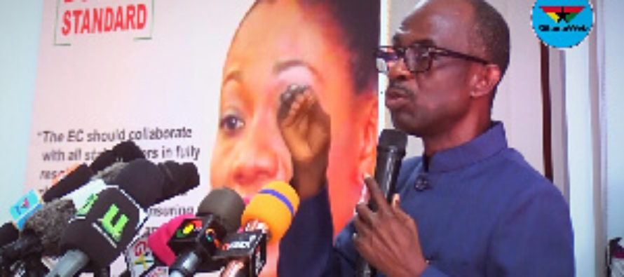 3 political parties storm out of EC technical meeting over new voters' register