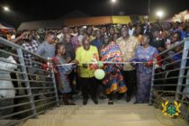 Akufo-Addo commissions Business Resource Center at Kadjebi