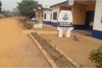 Waiting disaster: Akuse Police station building in a state of collapse