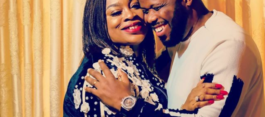 Sinach excited as she dedicates her baby girl in church (photos)