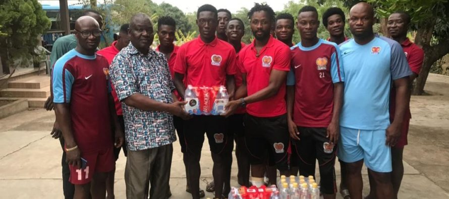 Total-Kpando Boss Donates To Hearts Of Lions