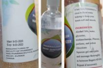 You can now order KNUST-manufactured low-cost sanitizers