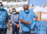 Mahama supports coronavirus fight with 100 set of PPEs and other items
