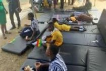 30 pupils collapse at Independence Parade in Tema West