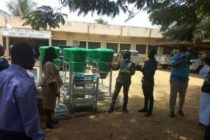 Woyome donates protective gear to South Tongu District Health Directorate