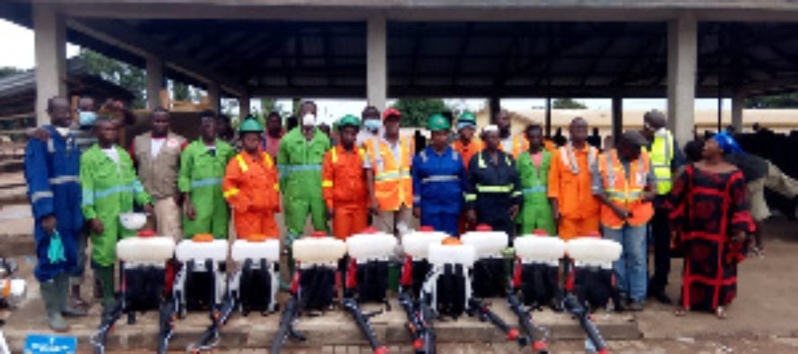 Akatsi South district completes fumigation exercise in all markets