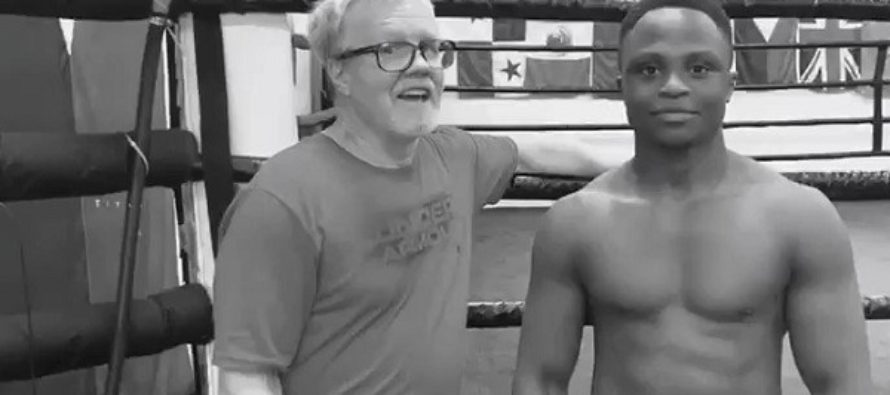 I asked my new trainers to push me hard and they do – Dogboe