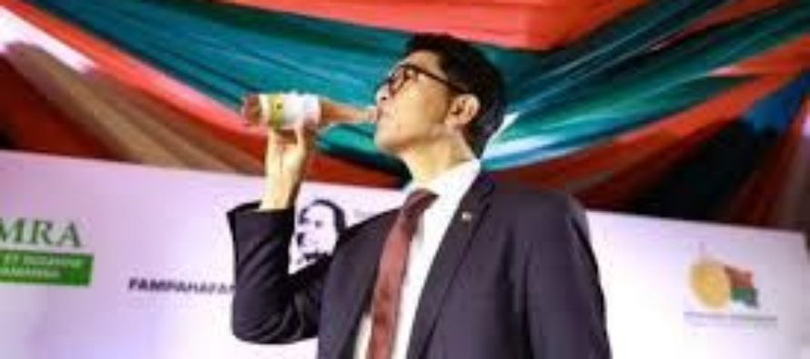 Madagascar President lashes out at WHO, says drink cures Covid-19 in 10 days