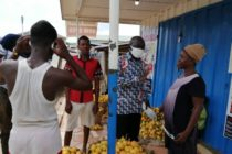 North Dayi District Assembly distributes 10k nose masks to residents