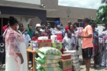 V/R: NPP Women's Wing donates food, PPE to orphanage on Mother's Day
