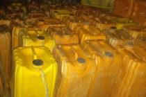 141 jerrycans of fuel smuggled into Togo through Aflao intercepted