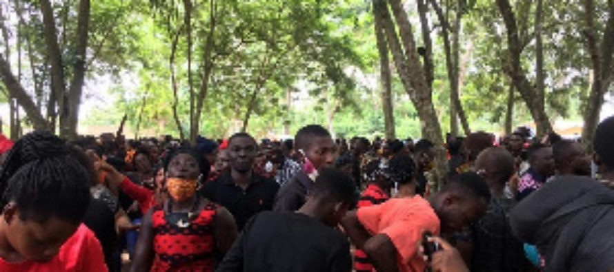 Tears as murdered Sogakope Assemblyman is laid to rest