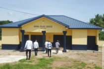 Adaklu District beefs up security with two new police stations
