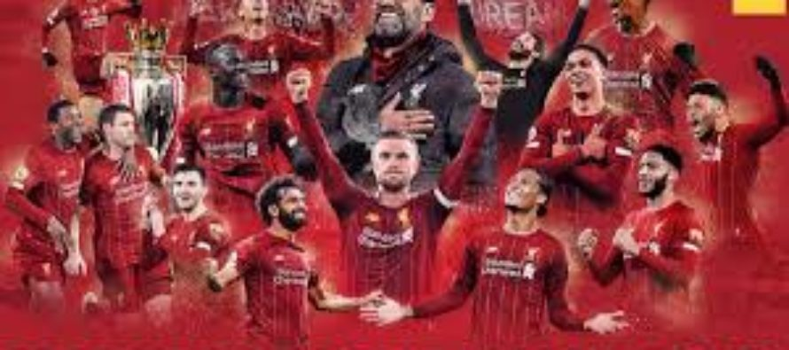 Liverpool are Premier League champions! The 30-year wait is over