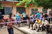 Voter registration: Social distancing thrown to dogs in Koforidua