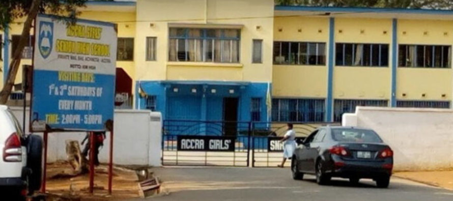 COVID-19: Angry parents storm Accra Girls over wards whereabout