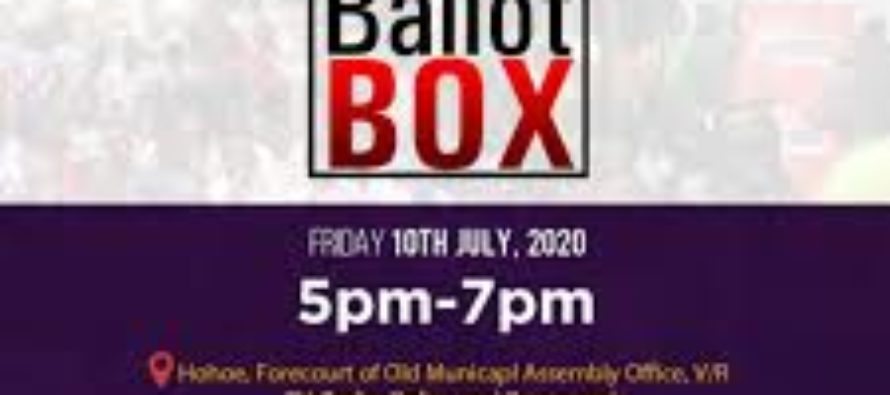 All set for Joy Ballot Box on July 10 in Hohoe