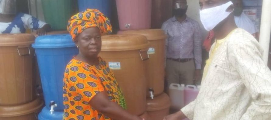 Oti caterers support NPP with PPE