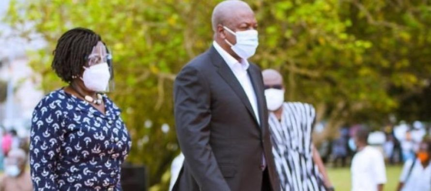 Naana Jane and I will never engage in insults – Mahama assures Ghanaians