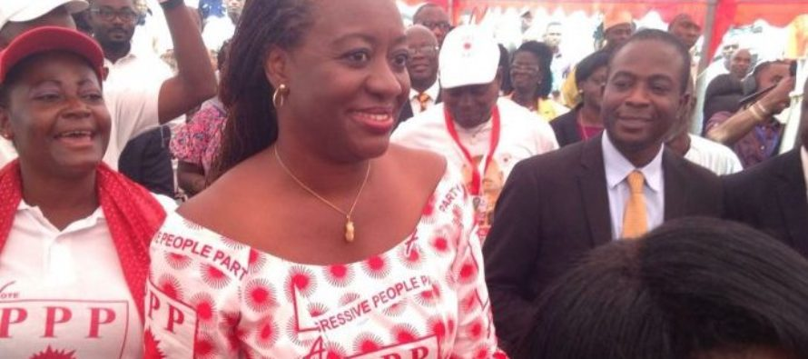 Brigitte Dzogbenuku, two others pick form for PPP flagbearer race