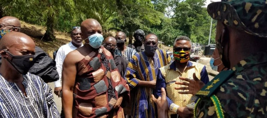 Border closure must not affect livelihood of frontier communities – Togbe Afede