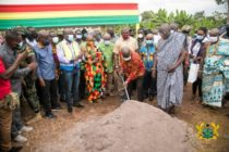 President cuts sod for water supply project in Volta Region
