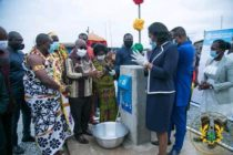 Amedzofe (V/R): President commissions water supply system in Volta Region