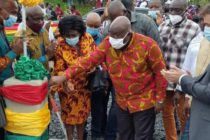 Amedzofe : President commissions Amedzofe Water Supply System