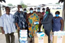 Volta Union UK/Europe donates PPEs to Ho Teaching Hospital