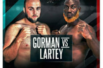 Heavyweight boxer Richard Lartey optimistic of victory over Nathan Gorman