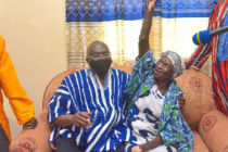 Bawumia hands over house to 82-yr-old abandoned cured leper