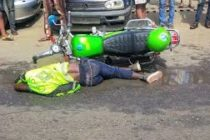 Motor rider killed instantly while trying to beat traffic light