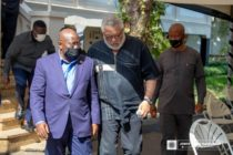 Akufo-Addo consoles Rawlings, Agbotui family