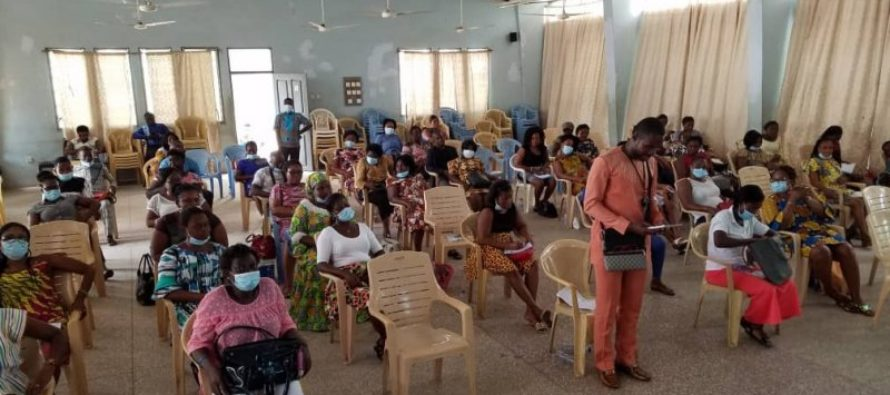 Beneficiaries of CAP receive training in Ho