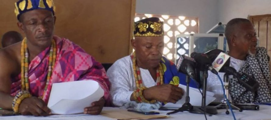 We're committed to one united Ghana- Afife Chiefs disown secessionists