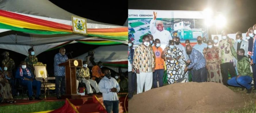 Dambai: We are tackling waste and good health of citizens – Akufo-Addo