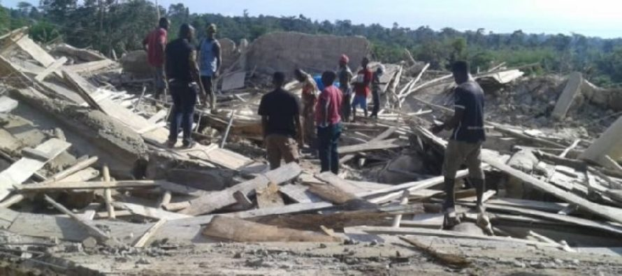 E/R: One dead as 3-storey church collapses on 60-plus worshippers as they fasted for pastor