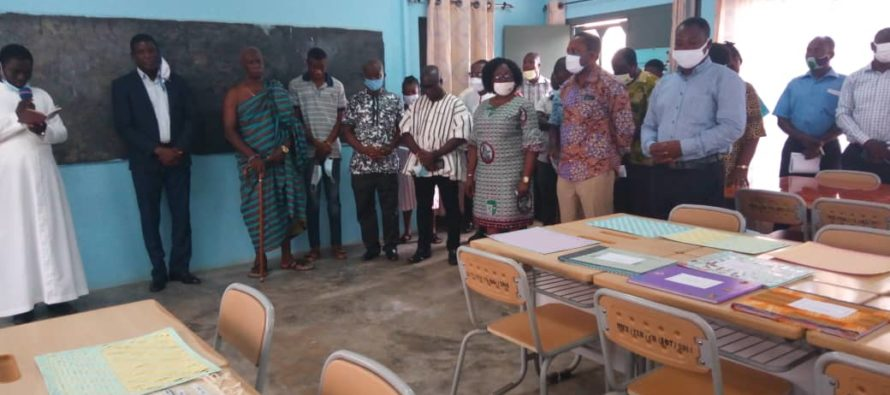 Hohoe: St Theresa's College of education gets Teaching and Learning materials Resource Centre