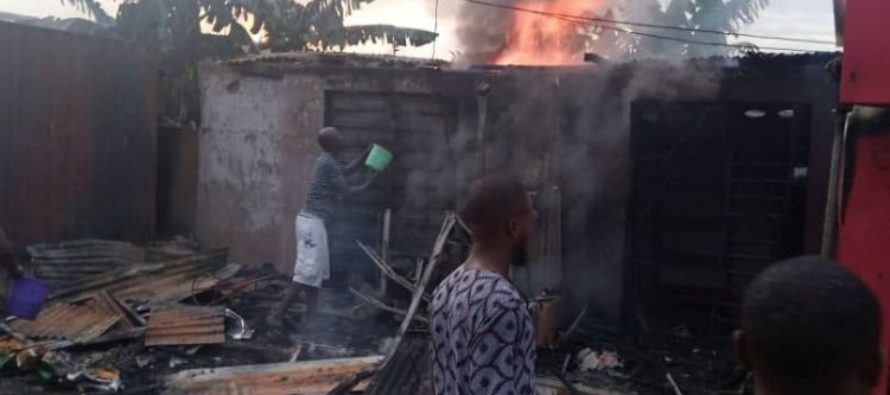 Petrol station explodes in Nigerian city of Lagos