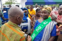 A 38-year-old woman crowned best farmer in Agortime Ziope