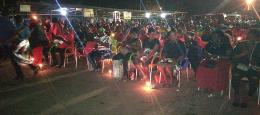 Thousands attend vigil for late President Rawlings in Ho