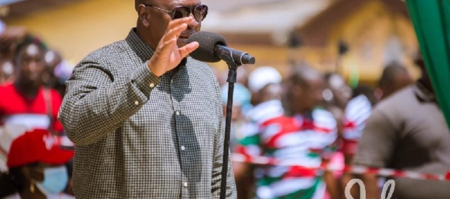 Don't worry; I'll pay all your money – Mahama promises contractors