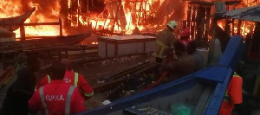 Ghana records 5,033 fire outbreaks in 10 months