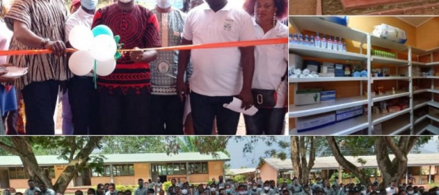 HEPSS'98 group hands over clinic to alma mater
