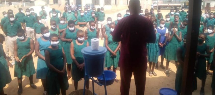 Psyche yourselves to wear masks – Kadjebi DCE admonishes students