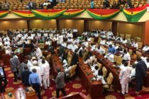 NDC MPs take over majority side in Parliament