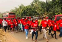 V/R: Group march against Letsa's reappointment