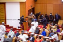 NPP MP snatches ballot papers, NDC MPs jubilate over yet-to-be-announced Speaker results