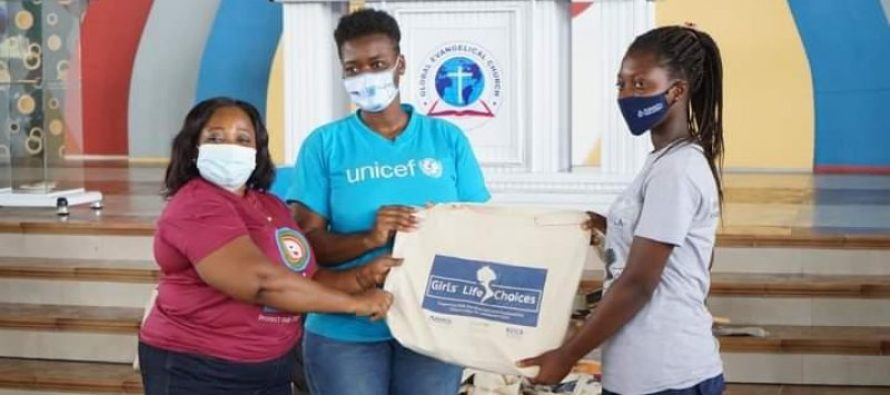 Sogakope (V/R): UNICEF/KOICA equip adolescent girls with start-up kits