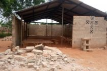 Adetsewui (VR): One in critical condition after uncompleted Church building collapses at Adetsewui